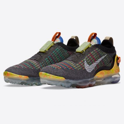 Nike Air VaporMax 2020 FK Iron Grey/White-Multi-Color CJ6740-003
