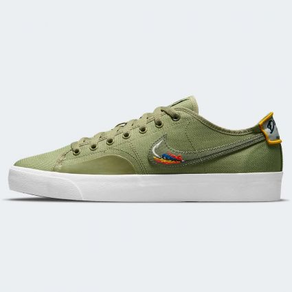 Nike SB Blazer Court DVDL Dusty Olive/Medium Olive-Light Bone-Navy CZ5605-300