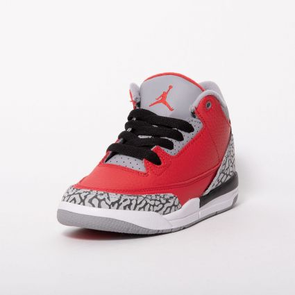 Nike Jordan 3 Retro SE (PS) 'Unite Collection' Fire Red/Fire Red-Cement Grey-Black CQ0487-600