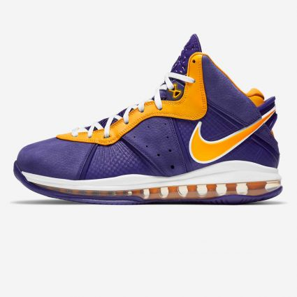 Nike Lebron VIII QS 'Lakers' Court Purple/University Gold DC8380-500