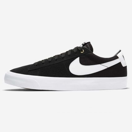 Nike SB Zoom Blazer Low Pro GT DC7695-002 Black/White-Black-Gum Light Brown