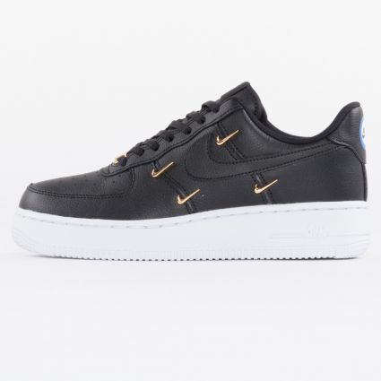 Nike Air Force 1 07 LX Black/Metallic Gold/Hyper Royal/Black1
