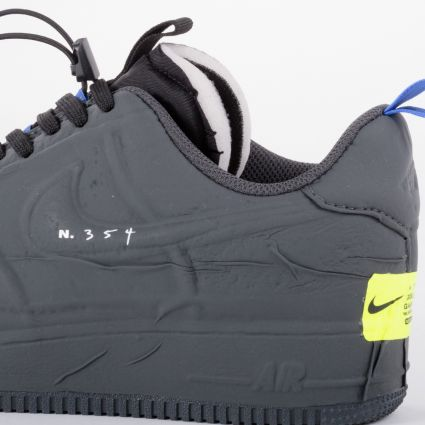 Nike Air Force 1 Experimental Black/Anthracite-Chile Red-Hyper Royal
