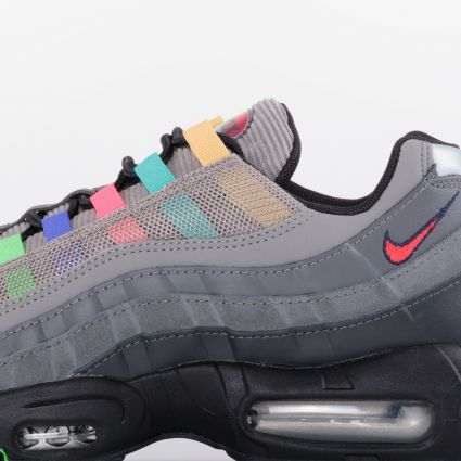Nike Air Max 95 EOI Light Charcoal/University Red-Black CW6575-001