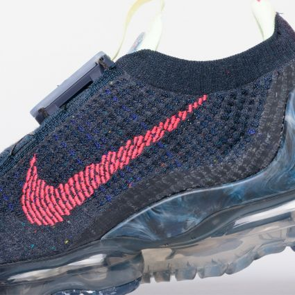 Nike Air Vapormax 2020 FlyKnit Obsidian/Siren Red-Barely Volt CW1765-400