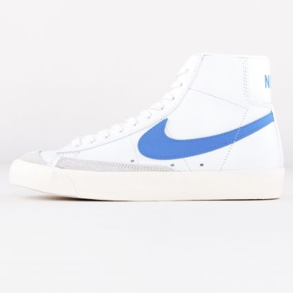 Nike Blazer Mid 77 WHITE/ROYAL PULSE-HYPER CRIMSON-BLACK1