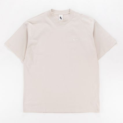 Nike NRG Soloswoosh T-Shirt FLC Light Bone/White1