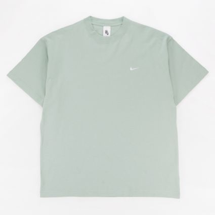 Nike NRG Soloswoosh T-Shirt FLC Steam/White1