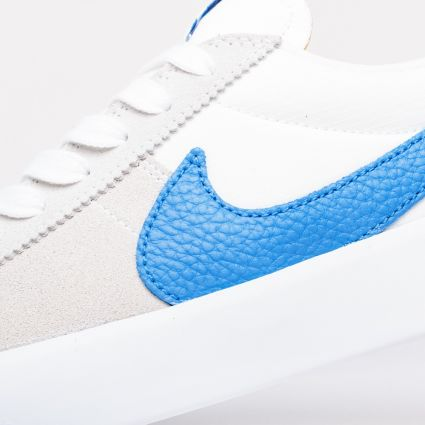 Nike SB Bruin React Summit White/Signal Blue-Summit White