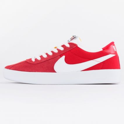 Nike SB Bruin React University Red/White-University Red1
