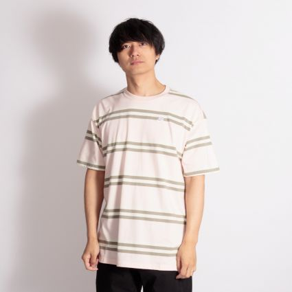 Nike SB Striped Skate T-Shirt Orange Pearl