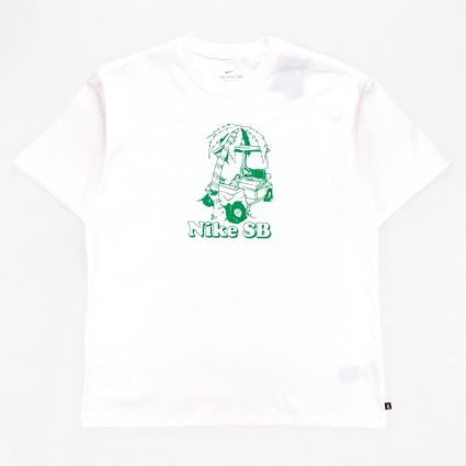 Nike SB Wrecked Skate T-Shirt White1