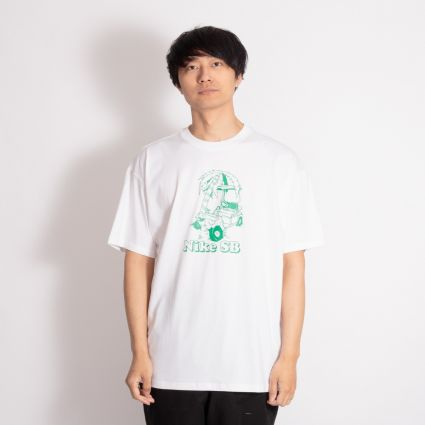 Nike SB Wrecked Skate T-Shirt White