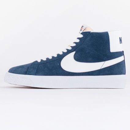 Nike SB Zoom Blazer Mid Navy/White-Black-University Red1