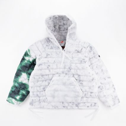 Nike x Stüssy Insulated Pullover Jacket White/Gorge Green1