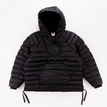 Nike x Stussy Insulated Pullover Jacket Black1