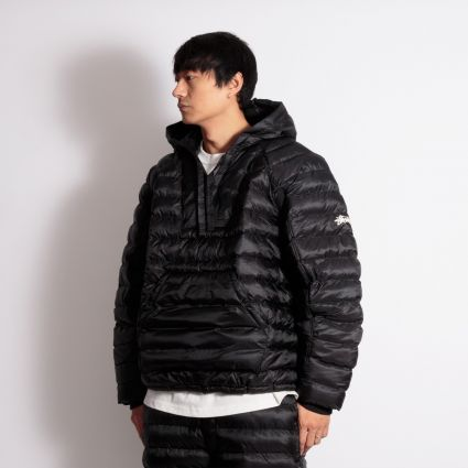 Nike x Stussy Insulated Pullover Jacket Black