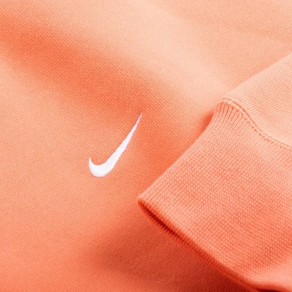 NikeLab NRG Fleece Crew Sweatshirt Healing Orange