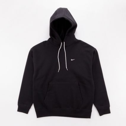 NikeLab Fleece Hoodie Black/White1