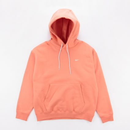 NikeLab Fleece Hoodie Healing Orange1