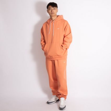 NikeLab NRG Fleece Hoodie Healing Orange