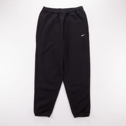 NikeLab Fleece Pants Black/White1