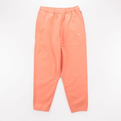 NikeLab Fleece Pants Healing Orange1