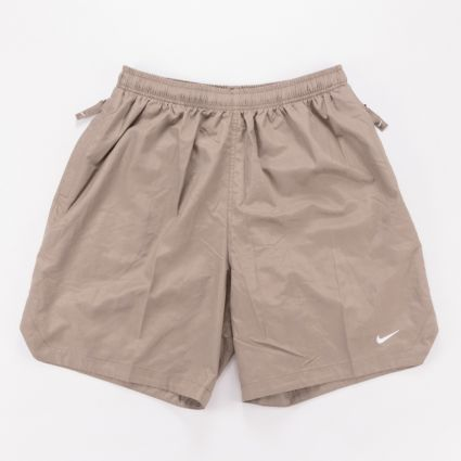 NikeLab NRG Flash Shorts Olive Grey1