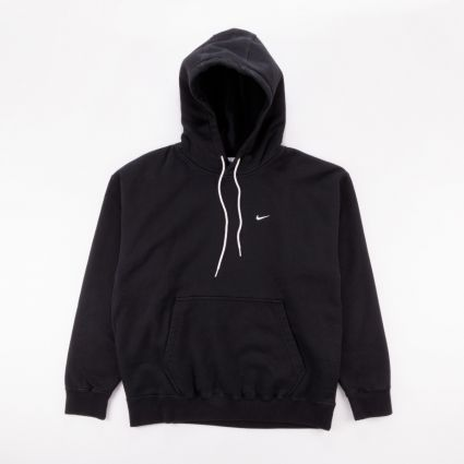 NikeLab NRG Washed Hoodie Black/White1
