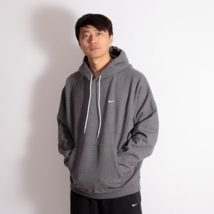 NikeLab NRG Washed Hoodie Charcoal Heather/White