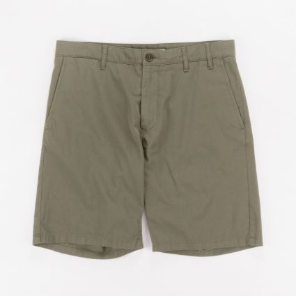 Norse Projects Aros Light Twill Shorts Ivy Green1