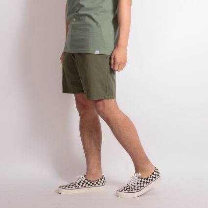 Norse Projects Aros Light Twill Shorts Ivy Green