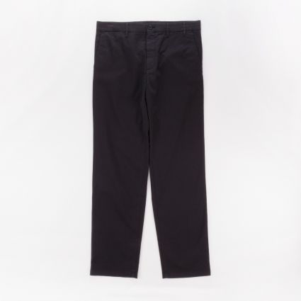 Norse Projects Aros Regular Light Stretch Trousers Black1