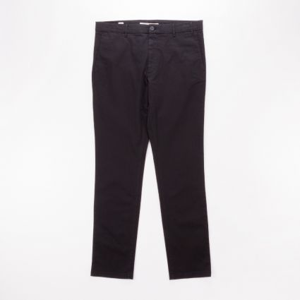 Norse Projects Aros Slim Light Stretch Trouser Black1