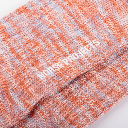 Norse Projects Bjarki Blend Socks Burnt Havtorn