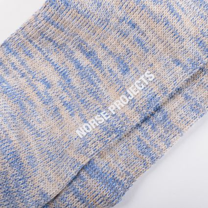 Norse Projects Bjarki Blend Socks Ultra Marine