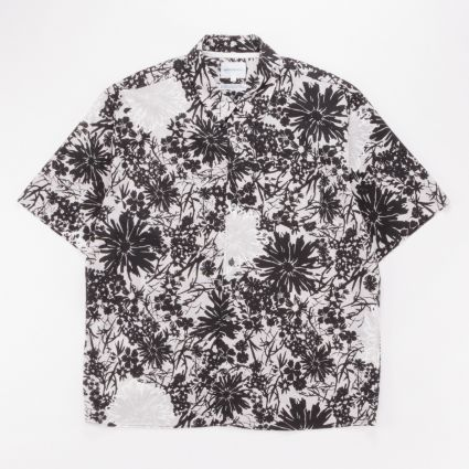 Norse Projects Carsten Flower Print Glacier Grey