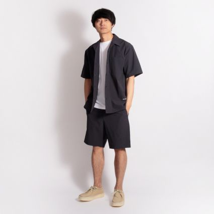 Norse Projects Carsten Quickdry WR Shirt Dark Navy