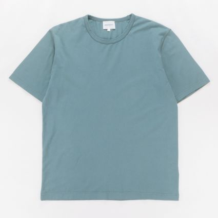 Norse Projects Johannes GMD T-Shirt Mineral Blue1