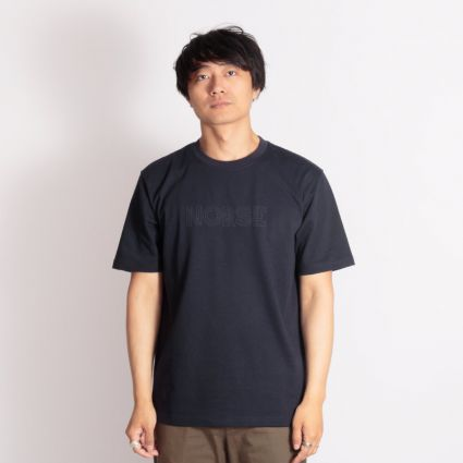Norse Projects Johannes Norse Logo T-Shirt Dark Navy
