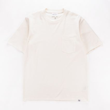 Norse Projects Johannes Pocket SS T-Shirt Ecru1