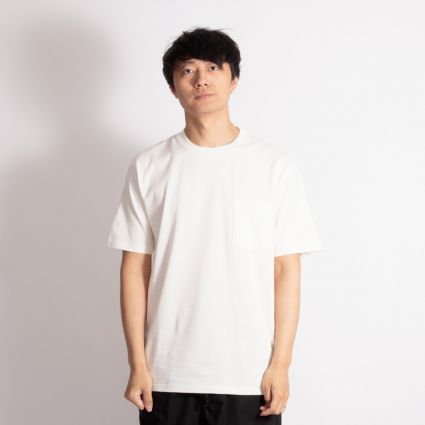 Norse Projects Johannes Pocket SS T-Shirt Ecru