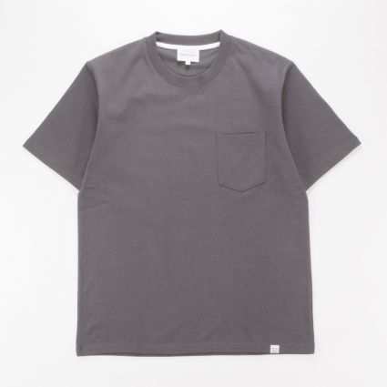 Norse Projects Johannes Pocket SS T-Shirt Slate Grey1