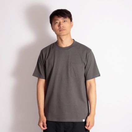 Norse Projects Johannes Pocket SS T-Shirt Slate Grey
