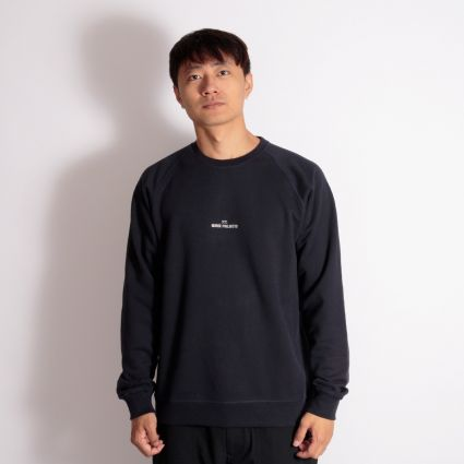Norse Projects Ketel Wave Logo Sweatshirt Dark Navy
