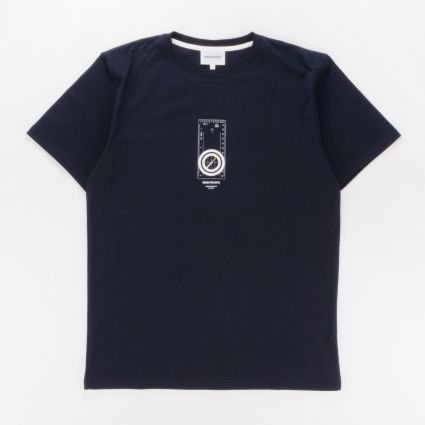Norse Projects Niels Compass T-Shirt Dark Navy