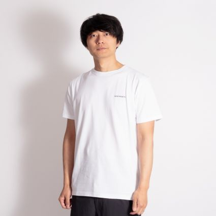 Norse Projects Niels Core Logo T-Shirt White