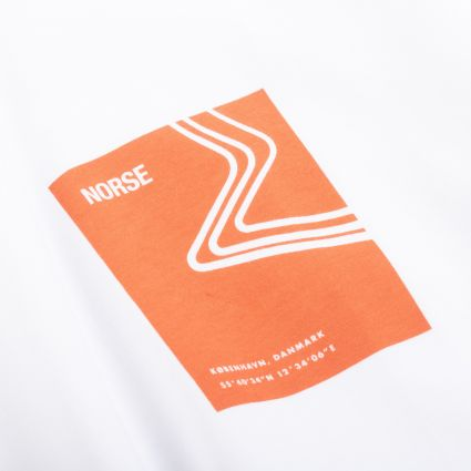 Norse Projects Niels Icographic 1 T-Shirt Golden Orange