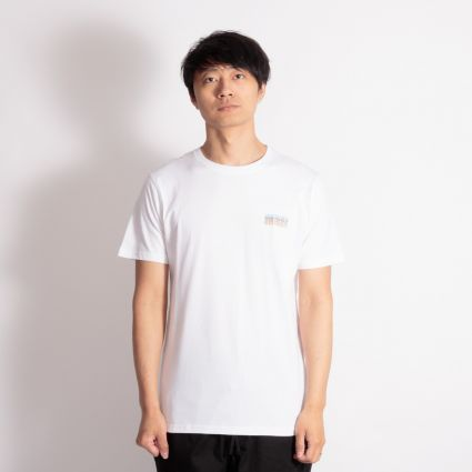 Norse Projects Niels Logo Stack T-Shirt White