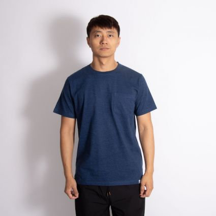 Norse Projects Niels Organic Mouline Indigo
